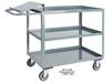 ORDER PICKING SHELF CARTS WITH WRITING STAND HANDLE